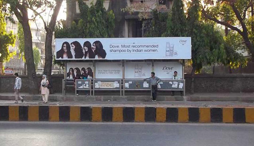 bus advertising in Mumbai, bus shelter advertising in Mumbai