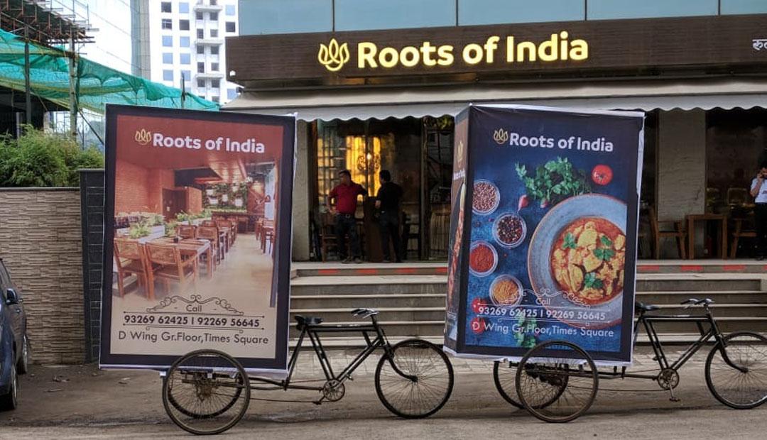 tricycle advertising in Mumbai, marketing companies in Mumbai