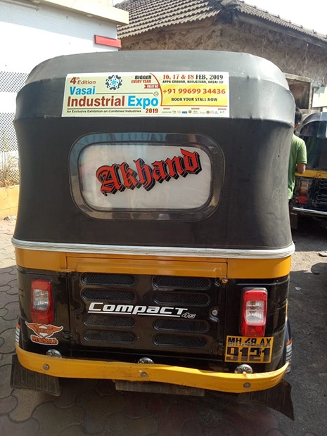 auto rickshaw advertising in Mumbai, Complete Advertising Agency
