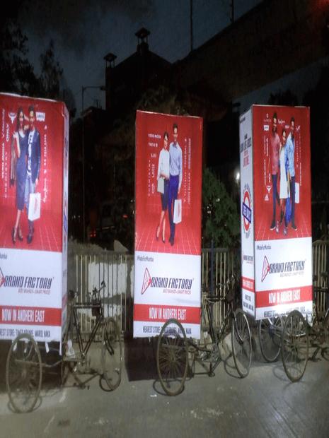 tricycle advertising in Mumbai